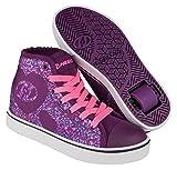 Heelys Purpur Rosa Heart Veloz Hi-Top Schuhe Mit...
